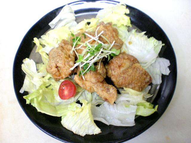 鶏の甘酢和え2